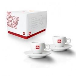 illy Espresso kopjes 2 k/s