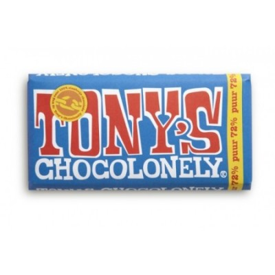 Tony's Chocolonely Pure chocoladereep 180gr