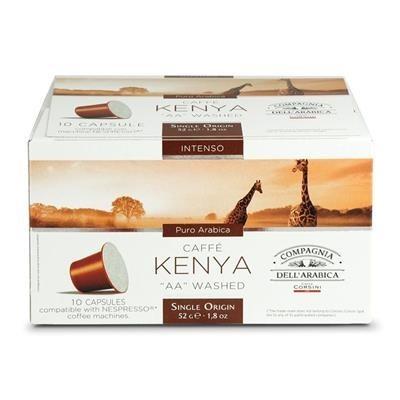 Kenya AA Washed 10 capsules