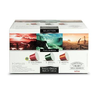 Capsules voor Espresso - Single Origins