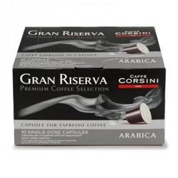Caffé Corsini Gran Riserva Arabica 6 x 10 Capsules