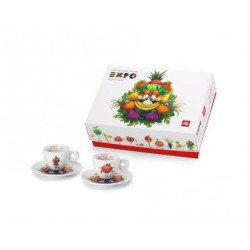 illy Expo Foody Collection - 2 espresso k/s Set A