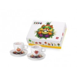 illy Expo Foody Collection - 2 espresso k/s Set B