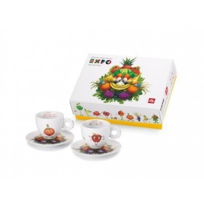illy Expo Foody Collection - 2 cappuccino k/s Set B