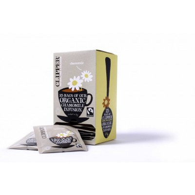 Clipper Fairtrade Infusion Chamomile BIO 6 x 25 zakjes