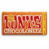 Tony's Chocolonely melk, karamel en zeezout 180 gram