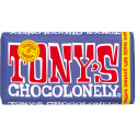 Tony's Chocolonely donkere melk pretzel toffee 180gr