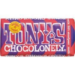 Tony's Chocolonely melk stoofpeer 180gr