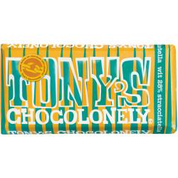 Tony's Chocolonely wit stracciatella 180gr