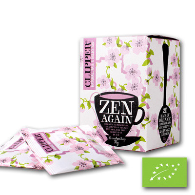 Clipper HEH Zen Again BIO 4 x 20 zakjes