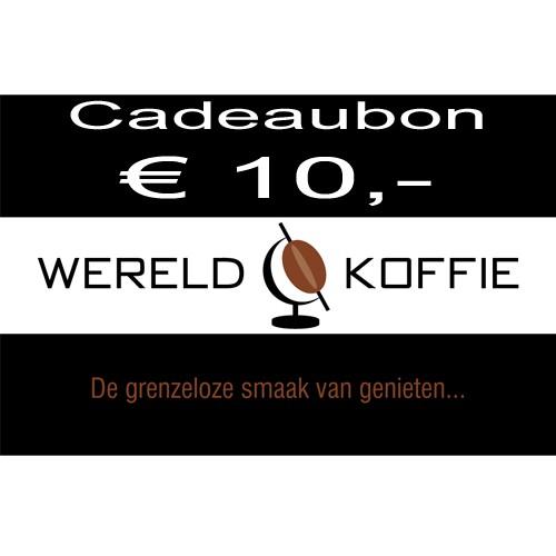Wereldkoffie Cadeaubonnen