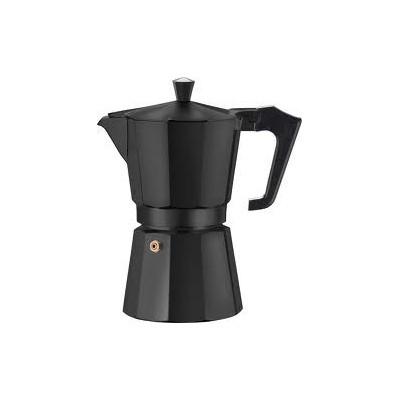 Voccelli Espresso Maker 3 kops Alu/zwart