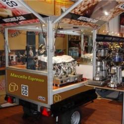 Mobiele Espressobar 100-150 personen + WK koffiebonen pakket