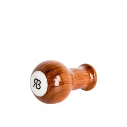 Reg Barber Handle Bubinga Tall Ball