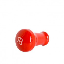 Reg Barber Handle Tall Powder Coated Red